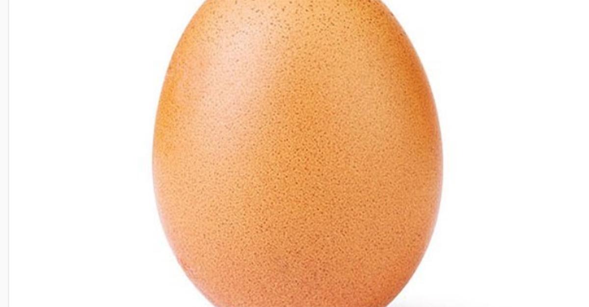 Perchè questa immagine di un uovo è quella con più like di sempre su Instagram