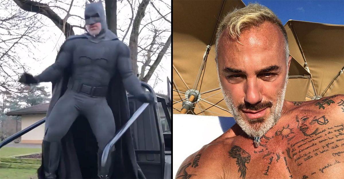 "Gianluca Vacchi diventa un supereroe: è Batman ""ballerino"""