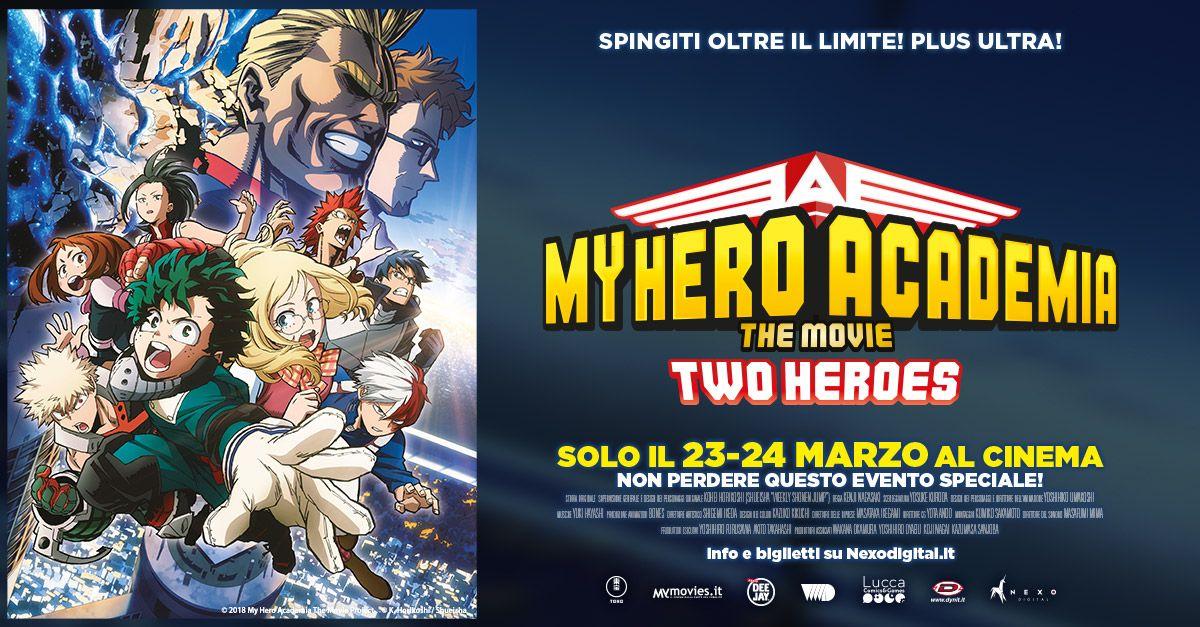 My Hero Academia, il nuovo fenomeno Manga e Anime al cinema solo il 23 e 24 marzo!