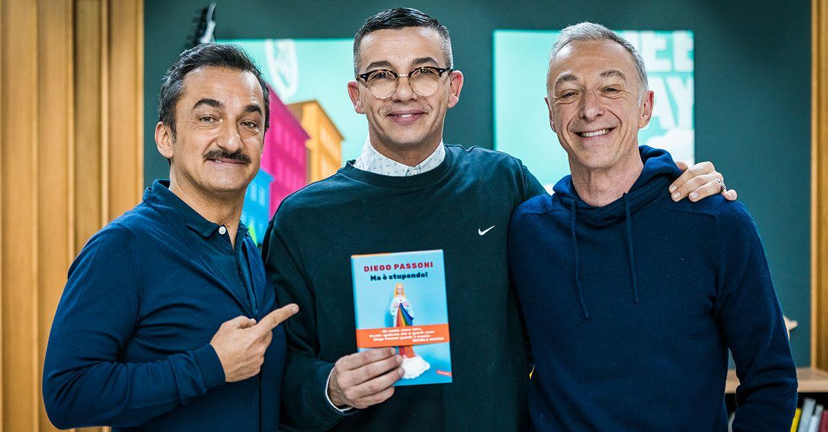 """""""Quando, a 21 anni, ho capito di aver sbagliato tutto"""". Diego Passoni presenta il suo libro a Deejay chiama Italia"""