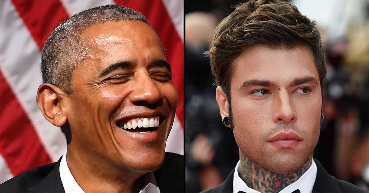 Fedez incontra Obama in palestra e gli chiede un selfie: la reazione di Barack