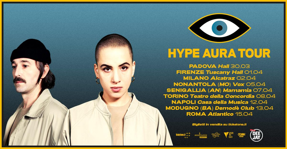 Dopo l'uscita dell'album Hype Aura, parte il tour dei Coma_Cose: entra nel loro mondo!