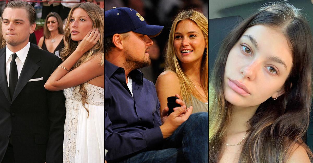 Leonardo DiCaprio, mai con una over 25: un grafico con l'età delle fidanzate lo dimostra