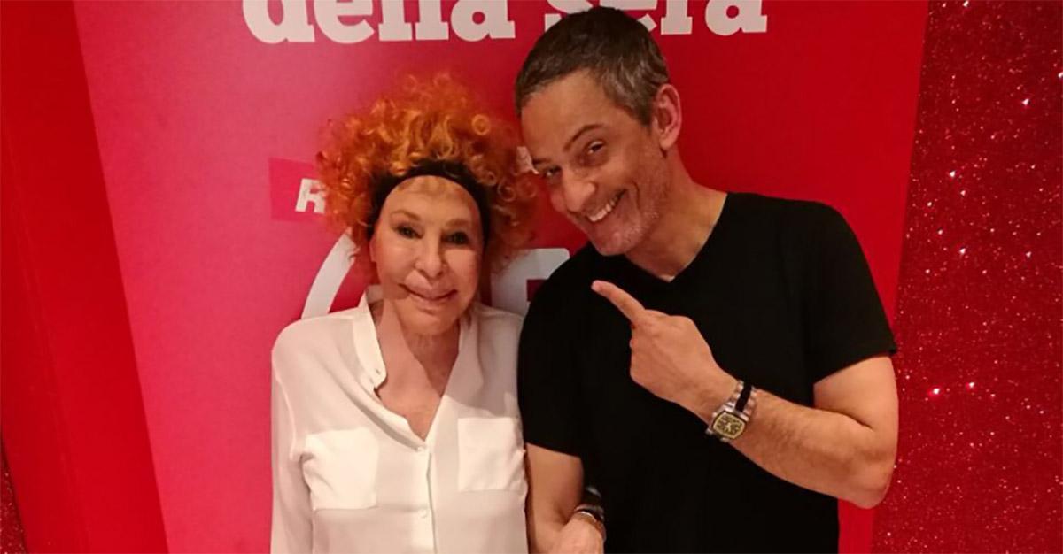 """Ornella Vanoni da Fiorello: """"Rifiutai 'Grande, grande, grande' perché era troppo volgare"""""""
