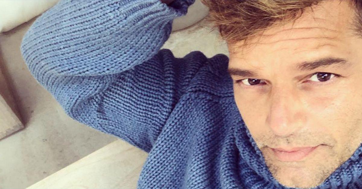 """Ricky Martin è arrivato a Roma: """"Sarà la mia casa per le prossime 7 settimane"""""""