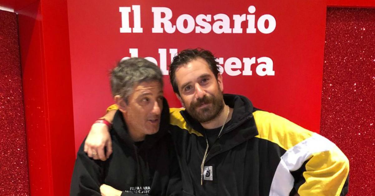 """Tommaso Paradiso da Fiorello canta Lucio Dalla: """"Disperato erotico stomp"""""""