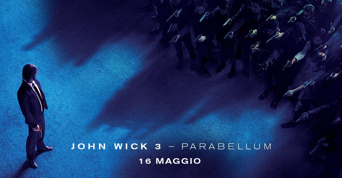 Keanu Reeves torna col terzo capitolo dell'adrenalinico John Wick !