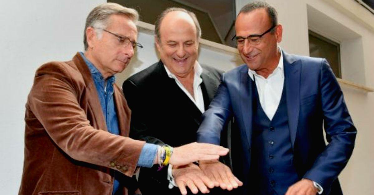 Maurizio Costanzo Show: l'intervista a Bonolis, Scotti e Conti in onda l'11 aprile