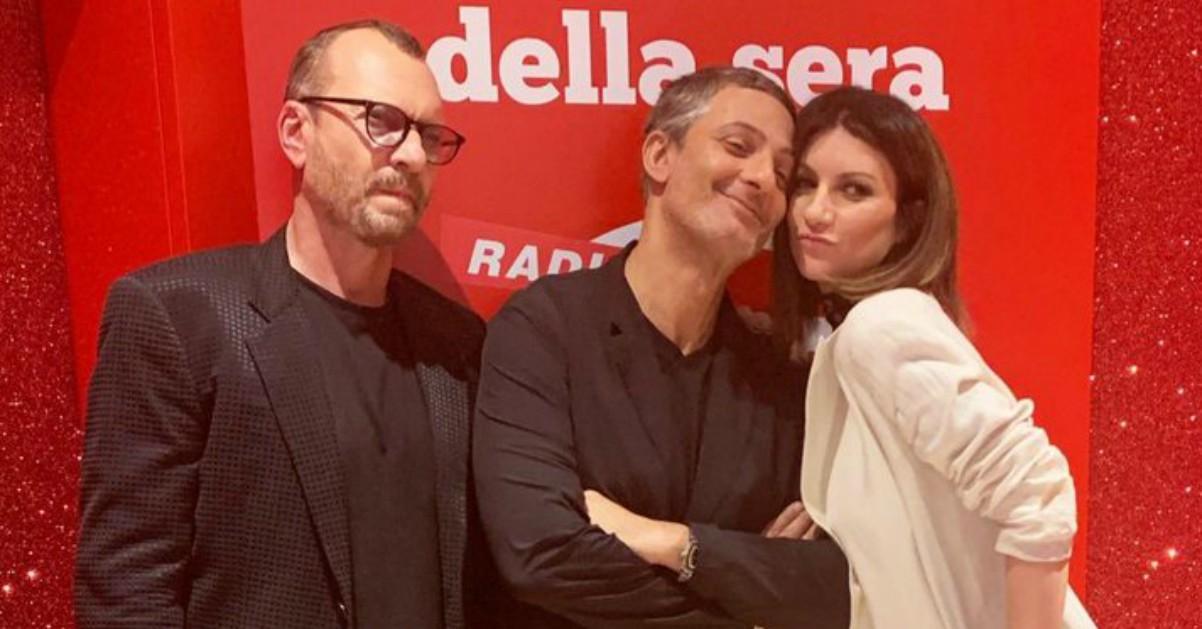 Biagio Antonacci e Laura Pausini live da Fiorello