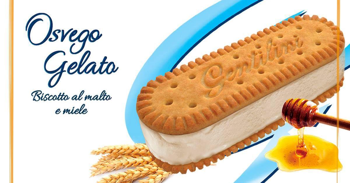 Osvego, lo storico biscotto di Gentilini al malto e miele diventa un gelato
