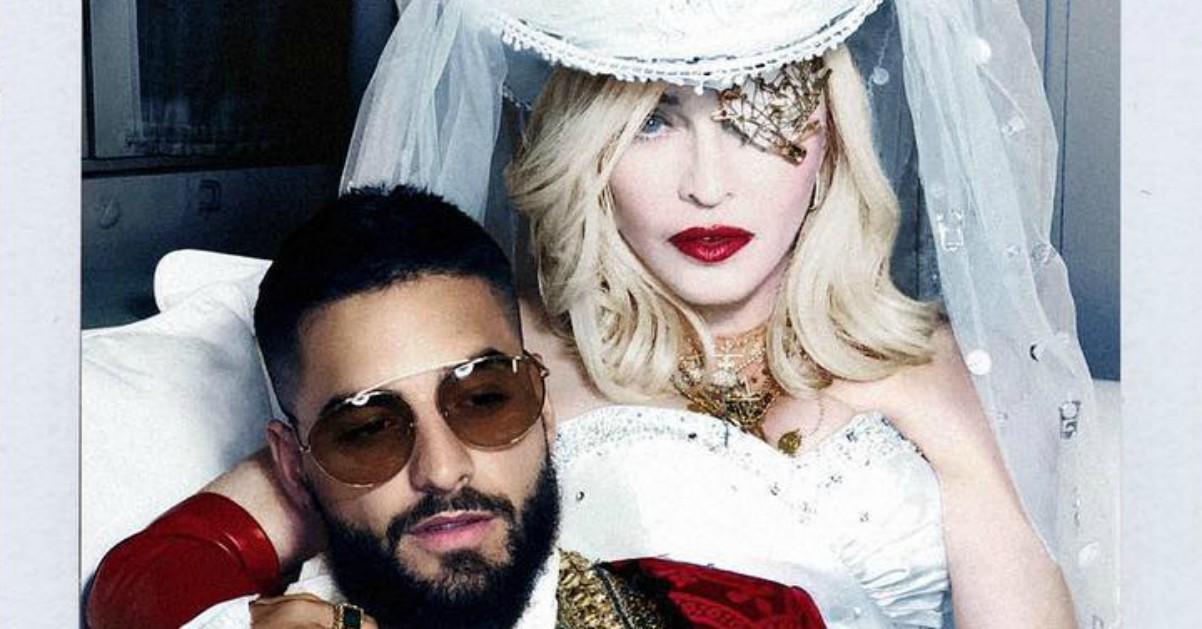 """Madonna fa piangere Maluma con il nuovo singolo """"Medellin"""""""