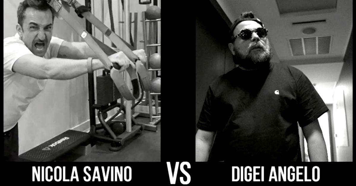 Come si preparano Nicola Savino e Digei Angelo per la festa di Radio DEEJAY? La sfida