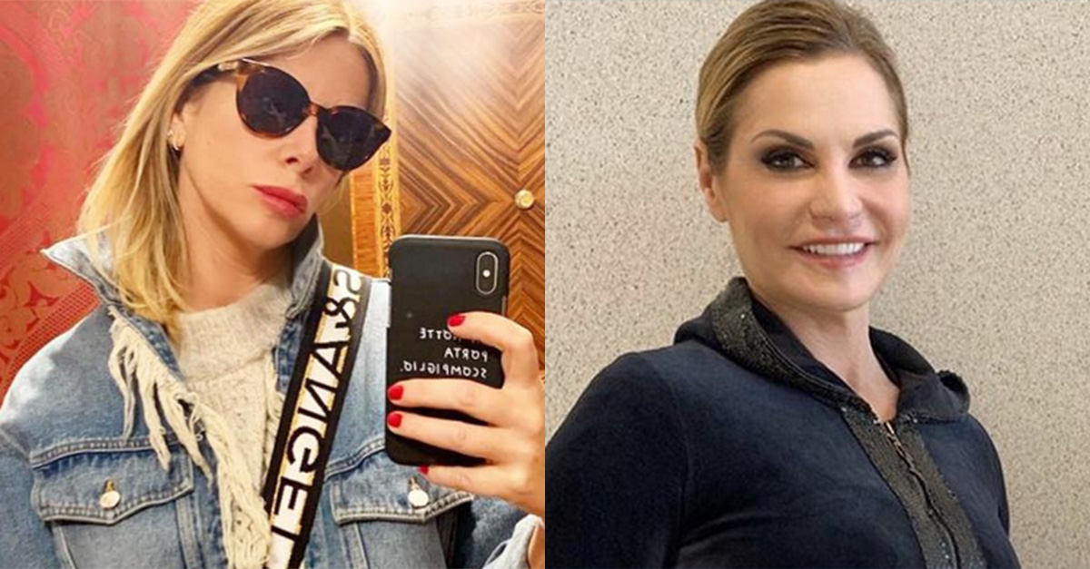 """Alessia Marcuzzi risponde a Simona Ventura: """"Non si parla male dei colleghi"""""""