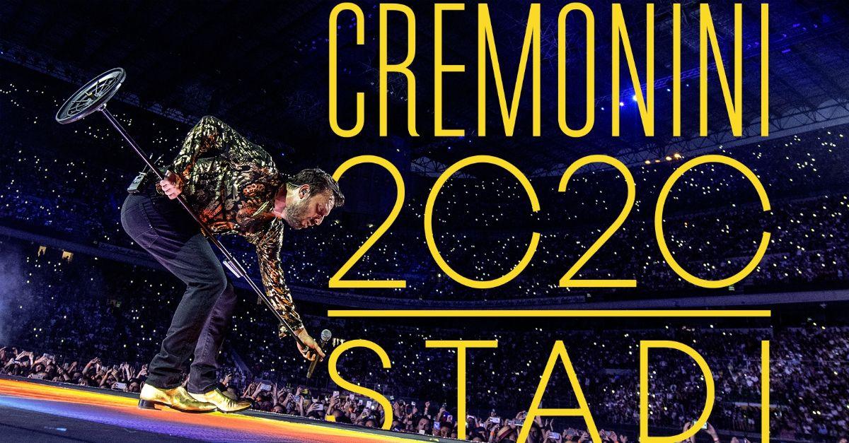 Cremonini in tour: 7 stadi e un grande show all'autodromo di Imola. Date e biglietti