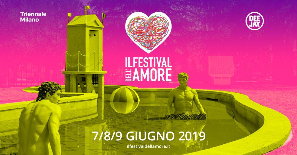 """Torna alla Triennale di Milano dal 7 al 9 giugno """"Il festival dell'amore""""!"""