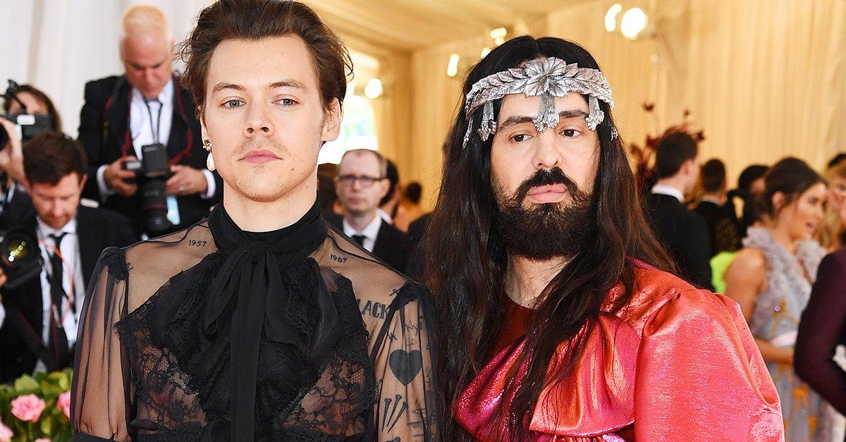Perchè il look di Harry Styles rappresenta perfettamente il Met Gala 2019