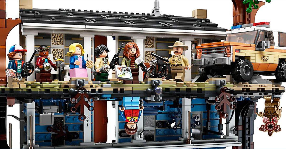 Ecco il set Lego di Stranger Things: può essere capovolto per entrare nel mondo sottosopra