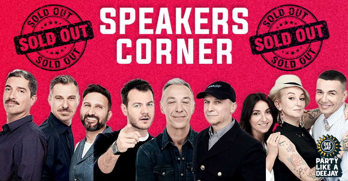 Vuoi partecipare allo SPEAKERS CORNER di Party Like a DEEJAY? Ecco come fare.