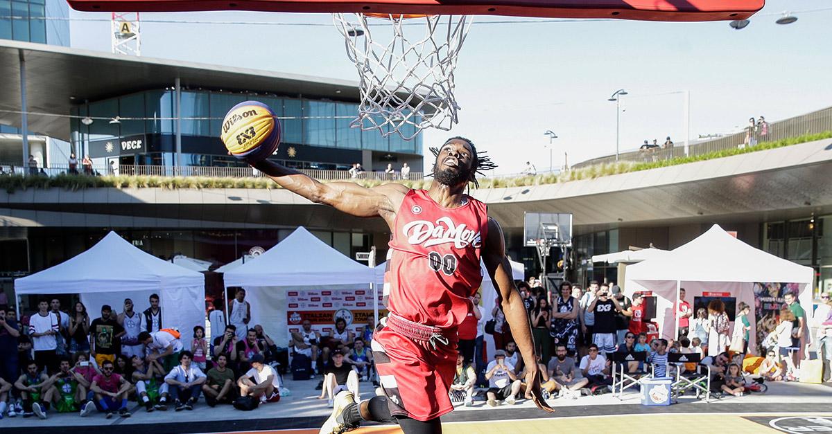 Radio DEEJAY segue la prima edizione del tour italiano del 3 contro 3 di streetball