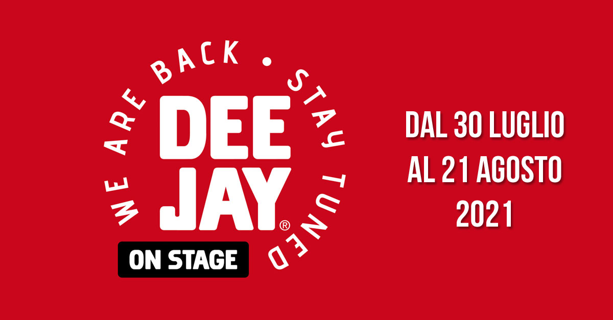 Deejay On Stage 2021