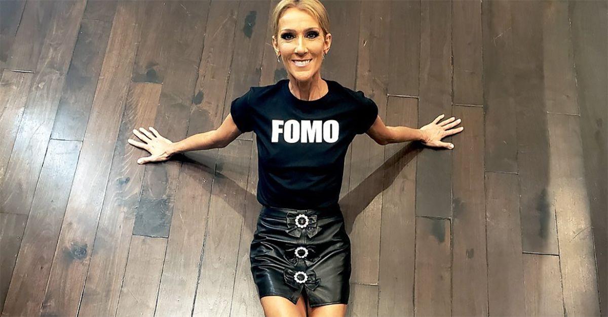 Céline Dion troppo magra, la foto in minigonna preoccupa i fan