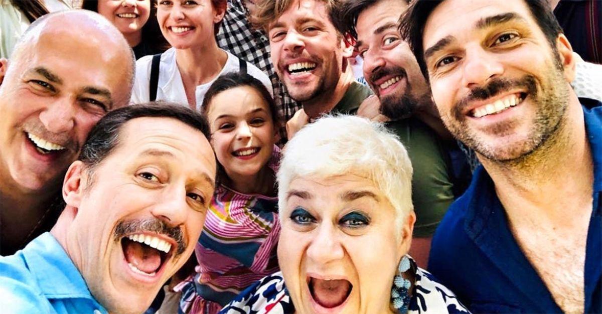 La dea fortuna, mega selfie dal set del nuovo film di Ozpetek