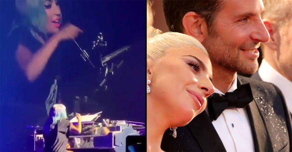 """""""Dov'è Bradley Cooper?"""" Lady Gaga non gradisce la domanda del fan e reagisce così"""