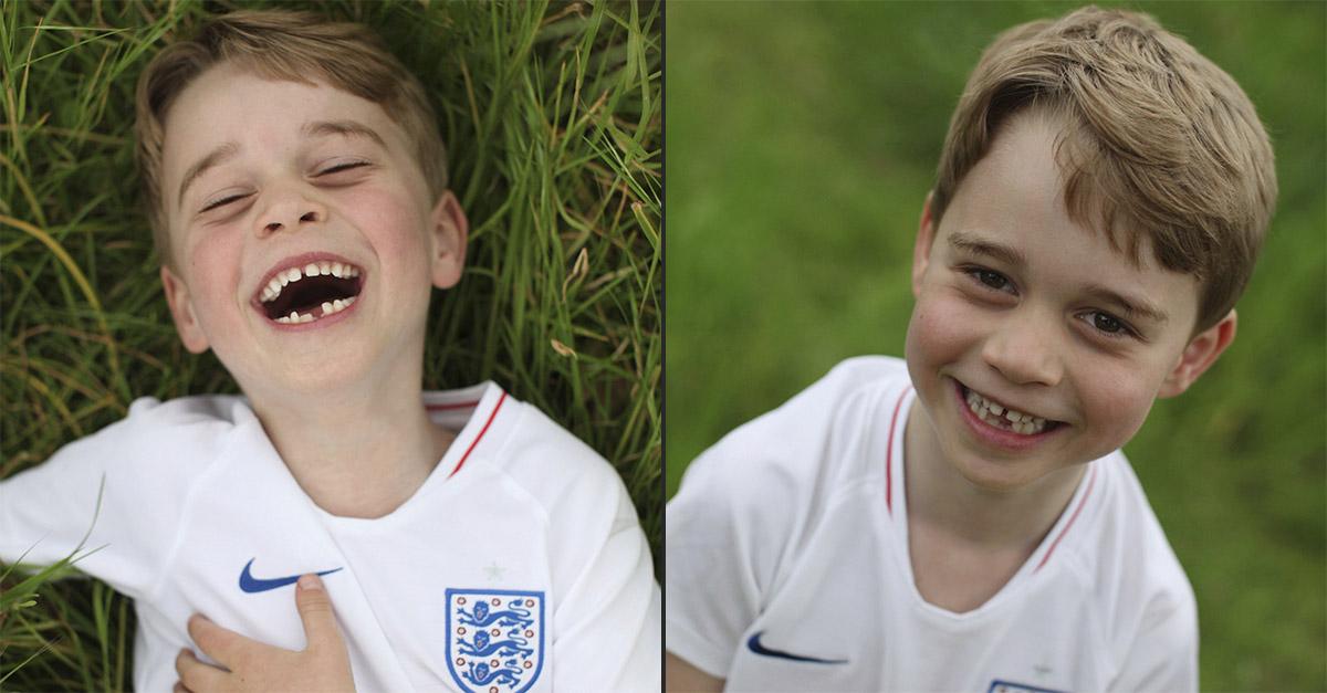 Il principe George compie 6 anni: ecco le foto scattate da mamma Kate
