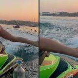 Mykonos, la sexy e acrobatica #BottleCapChallenge di Kendall Jenner