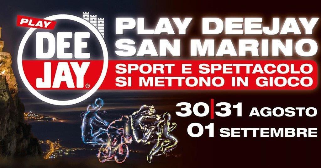 Play Deejay, un weekend di musica e sport a San Marino: iscriviti agli eventi