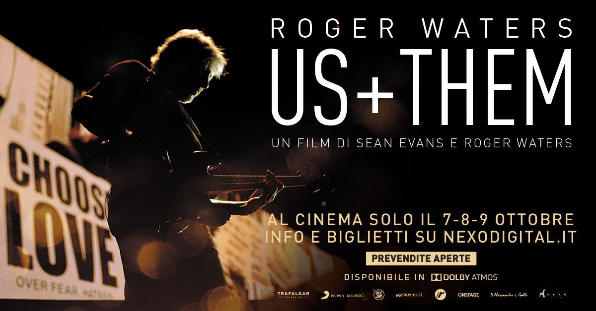 Roger Waters. Us+Them, il film concerto dal 7 al 9 ottobre al cinema