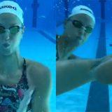 Federica Pellegrini, la sua 'bottle cap challenge' è sott'acqua (ma attenzione al finale)