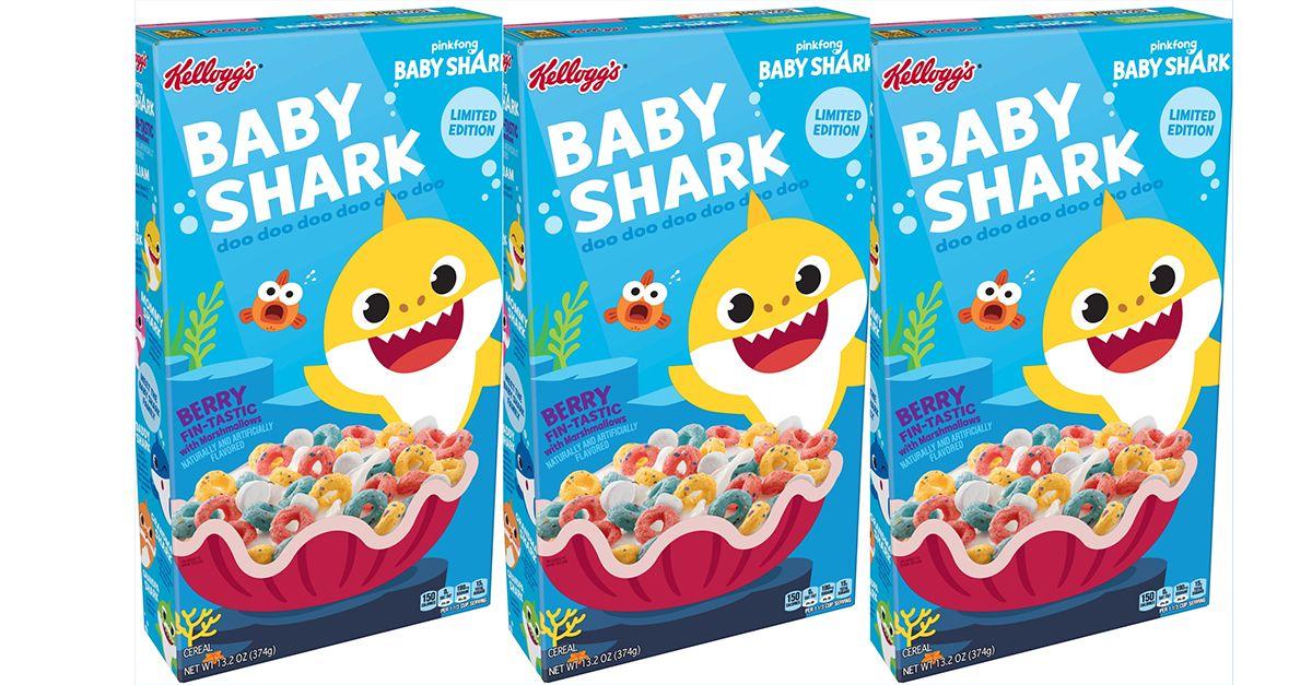 Da YouTube alla colazione: arrivano i cereali di Baby Shark (in edizione limitata)