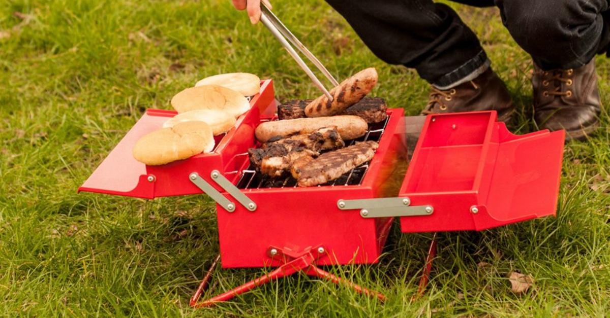 Il barbecue che non ti aspetti nella cassetta degli attrezzi