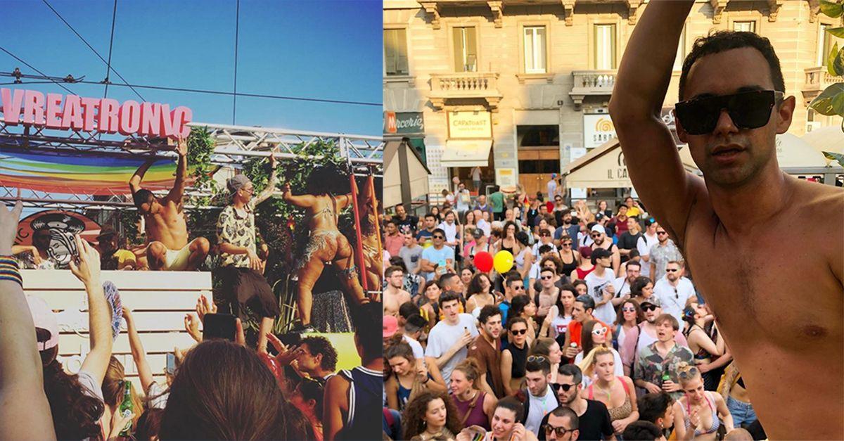 """Milano Pride, il carro di Cosmo e Ivreatronic: """"Stiamo rendendo il mondo un posto più bello"""""""