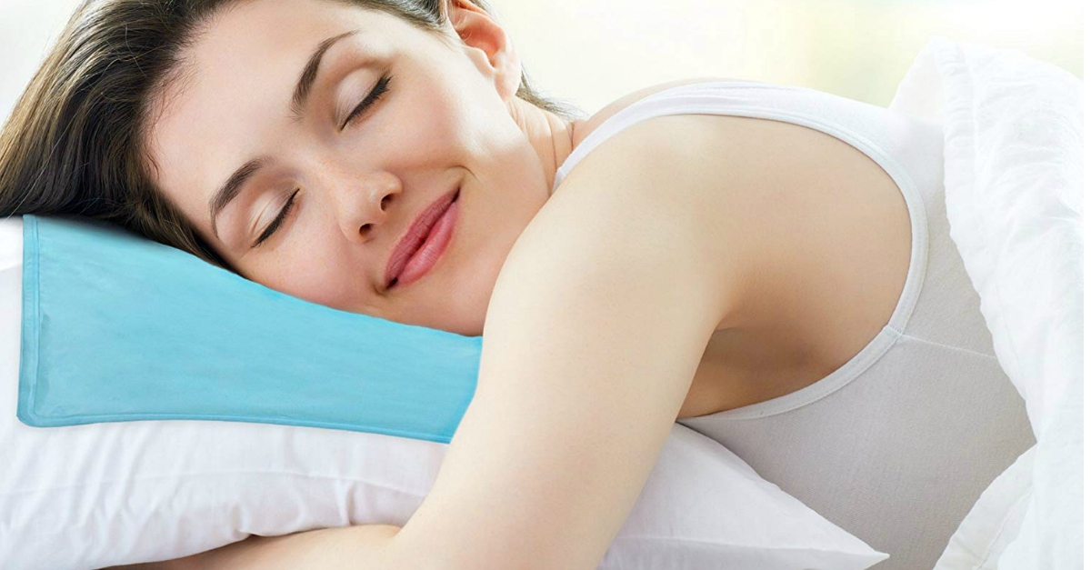 Ecco il cuscino rinfrescante che vi farà superare le notti estive