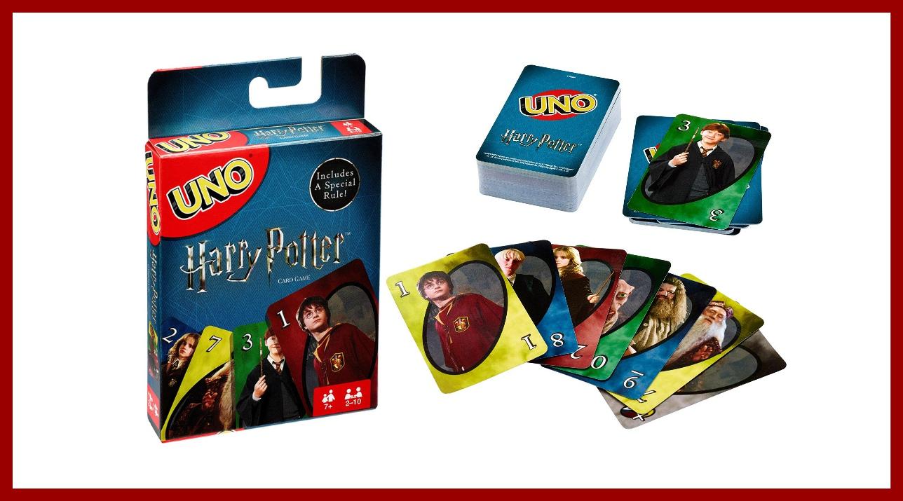Ecco le carte UNO di Harry Potter: il sogno dei nati negli anni '90
