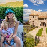 Chiara Ferragni e Fedez in Umbria: ecco il castello da sogno dove hanno iniziato le vacanze
