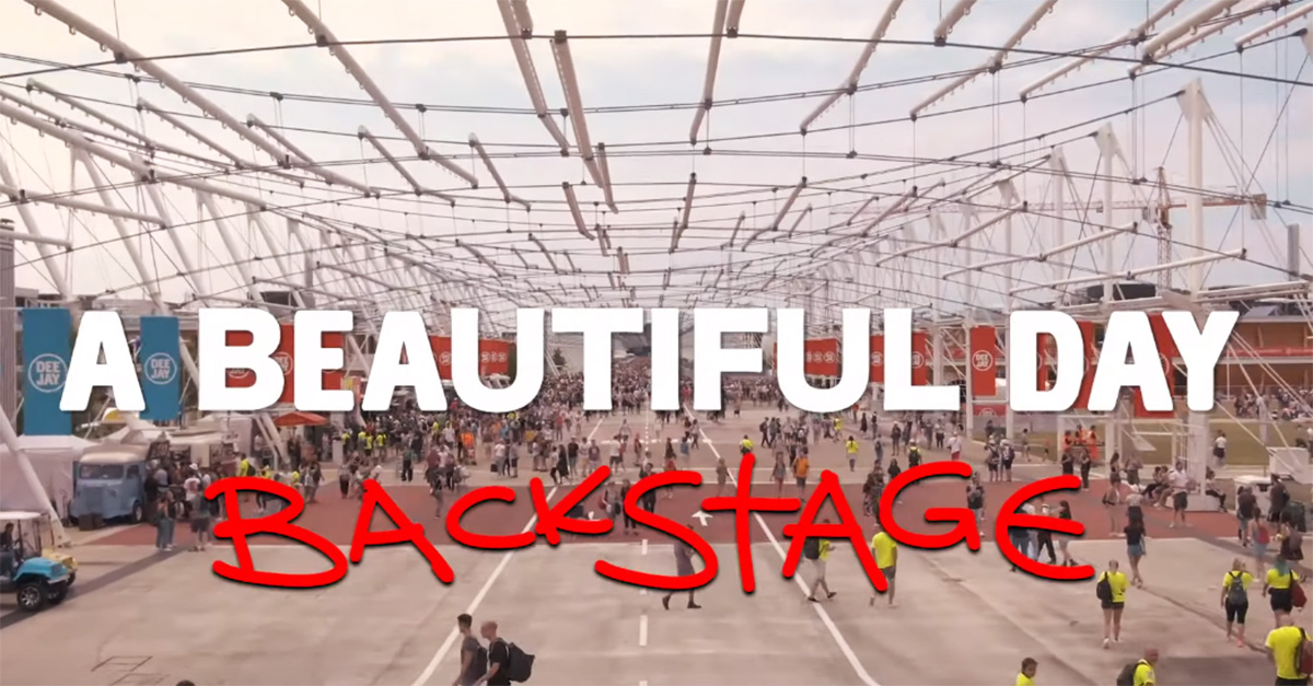 Party Like a Deejay, il video backstage di Matteo Curti