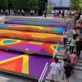 Milano Pride, l'illustrazione di Olimpia Zagnoli colora Piazza Liberty