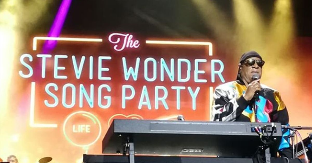 Song party of Life and Love, Sarah Jane racconta l'evento di Stevie Wonder a Dublino