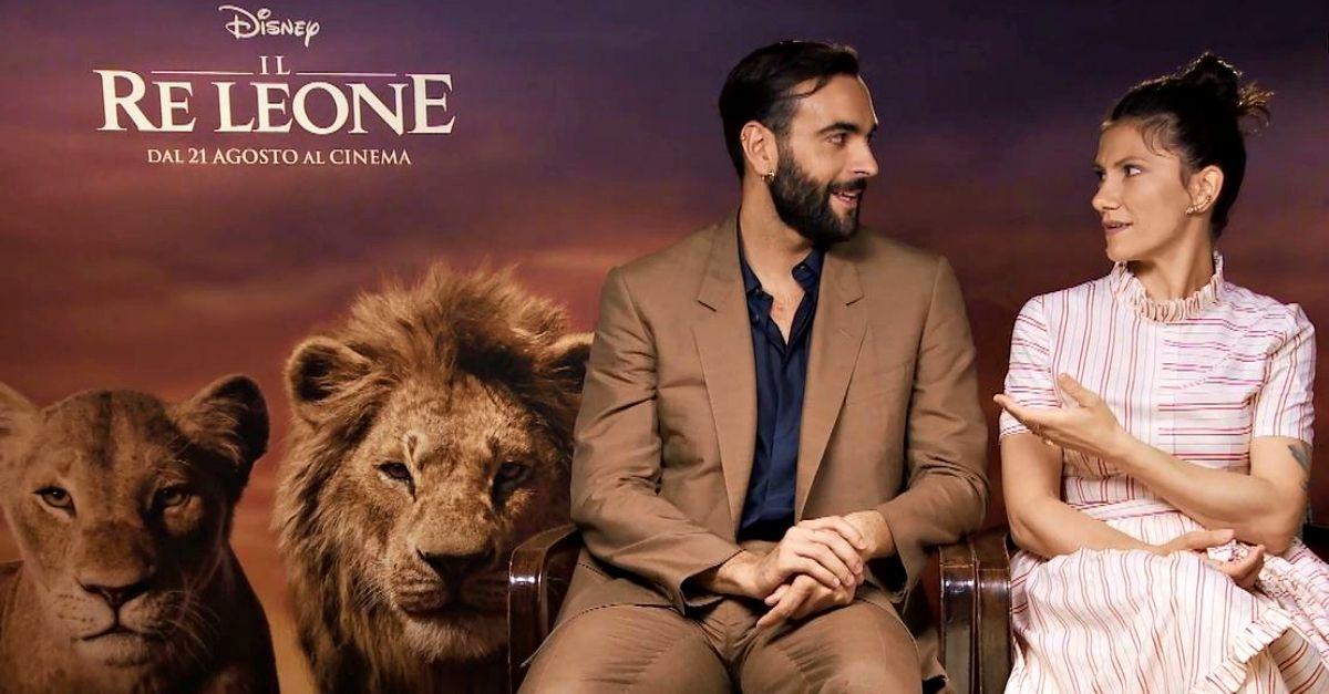 """Al cinema il nuovo """"Re Leone"""" con voci di Marco Mengoni ed Elisa: la nostra intervista"""