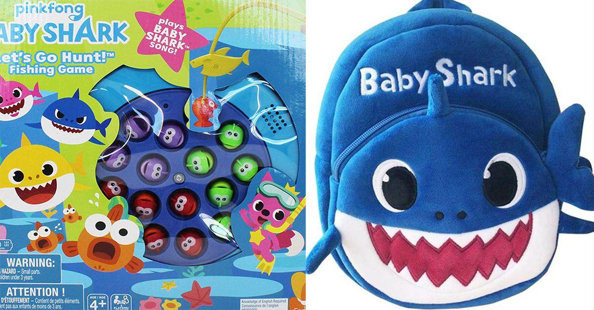 Baby Shark, ecco i prodotti perfetti da regalare ai fan del tormentone dell'anno