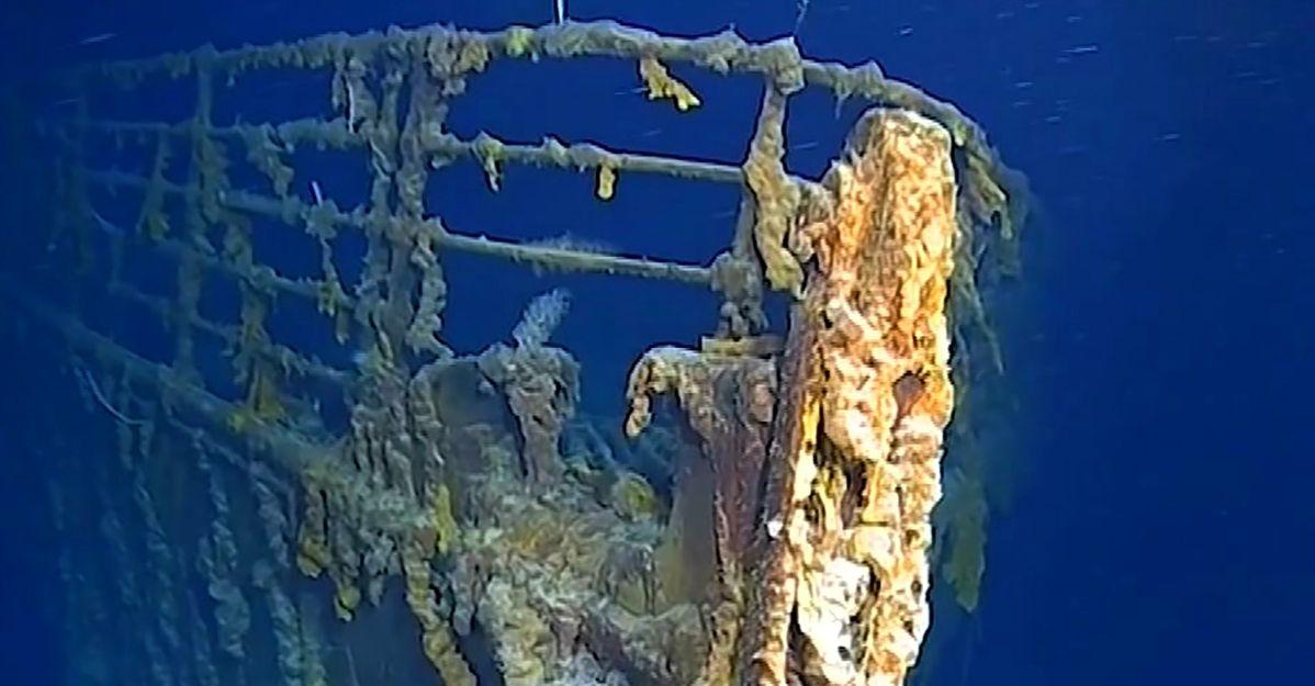 """Nuove immagini del Titanic dopo 14 anni: """"Si sta deteriorando. Presto potrebbe sparire"""""""