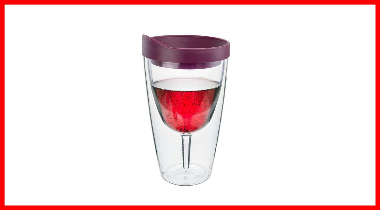 Questo bicchiere ti farà bere in tutta tranquillità a bordo piscina