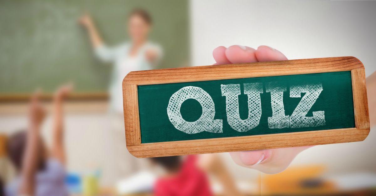 Sapreste rispondere a un quiz di quinta elementare? Provateci qui insieme al Trio Medusa