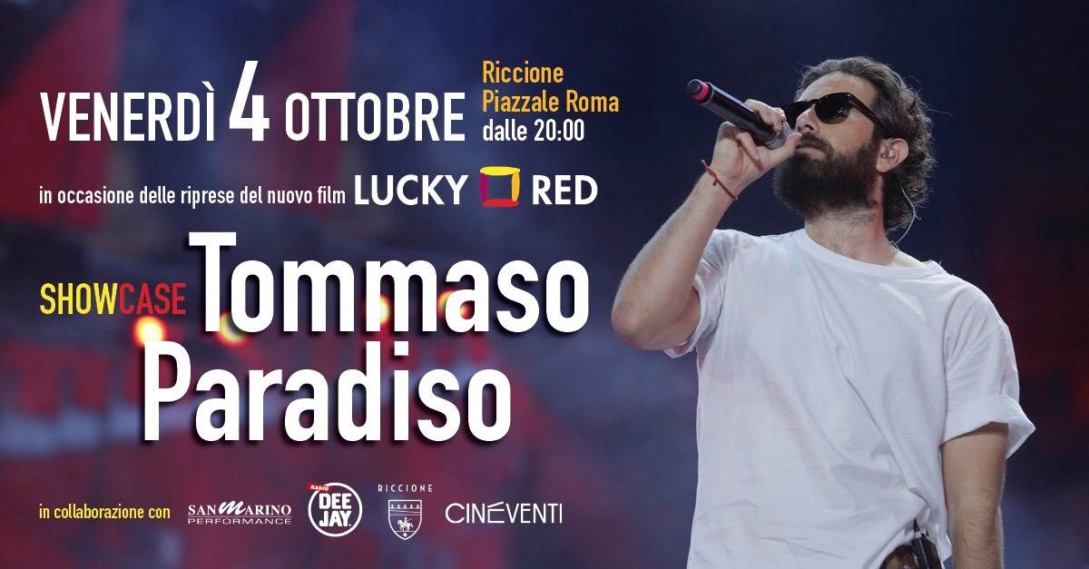 Vuoi partecipare all'esclusivo showcase di Tommaso Paradiso a Riccione il 4 ottobre?