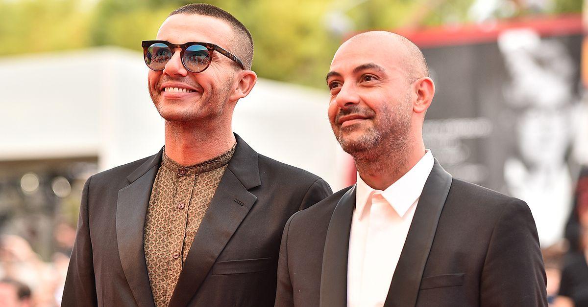 """Diego e suo marito Pier Mario a Venezia 76: """"Eravamo seduti dietro a Joaquin Phoenix…"""""""
