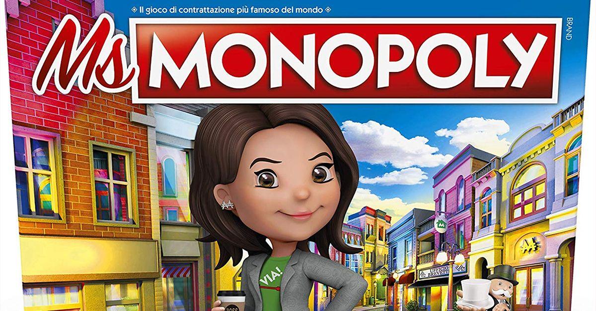 Ms. Monopoly, la nuova versione del gioco in cui le donne guadagnano di più