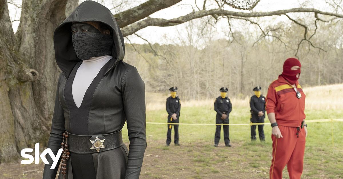 Arriva su Sky 'Watchmen', la serie in cui i supereroi sono fuorilegge